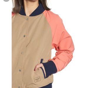 Herschel Supply Co. Varsity Jacket Khaki Georgia